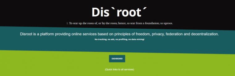 Dis 'root' website